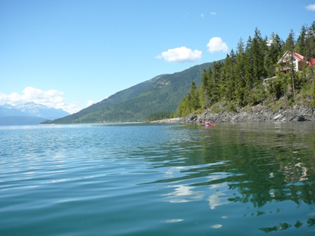 Photo of Serenity Views on the Upper Arrow Lake.