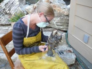 Shannon Deobald, bronze sculpture artist