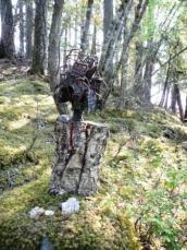 Bronze sculpture installed on Serenity Views property