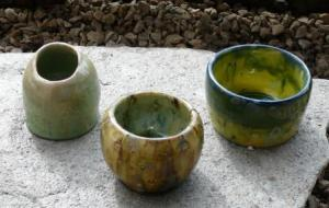 Creating mood - pottery from Serenity Views