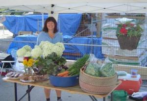 Fresh Veggies at the Nakusp Farmers' Market