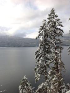 Arrow Lake in winter