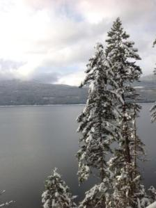 Arrow Lake in winter
