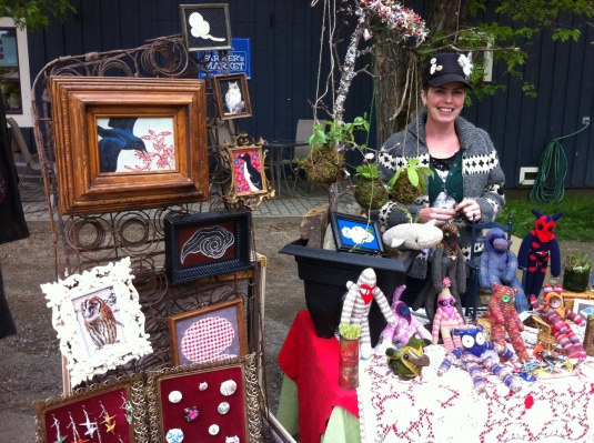 Vendor at Nakusp Farmers' Market